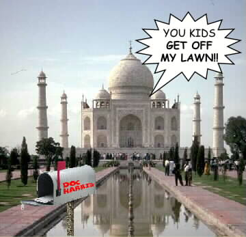 Picture of the Taj Mahal